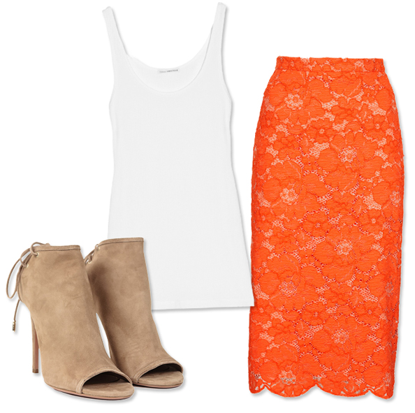 3 Ways to Wear Bright Tangerine