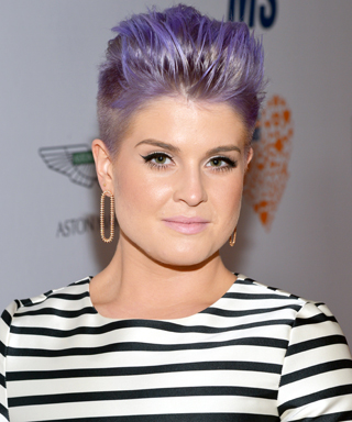 Kelly Osbourne Mohawk Pixie Haircut