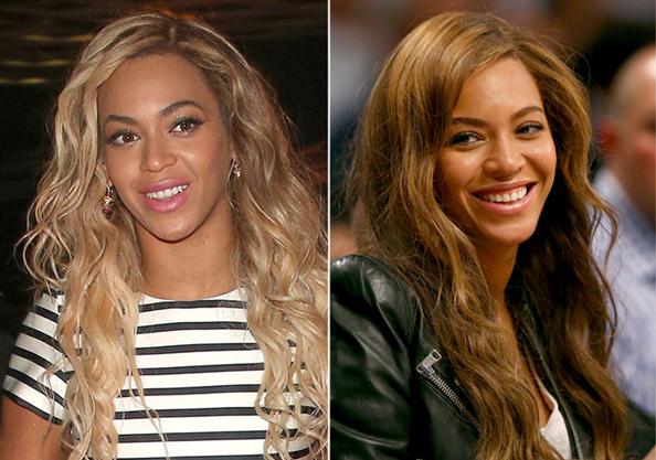 Beyonce - Brunette Hair