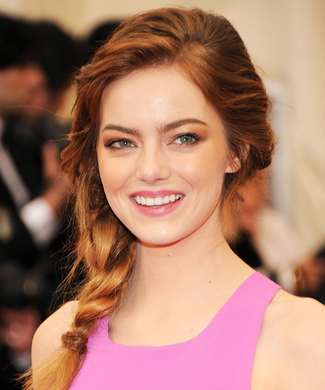 Emma Stone Braid