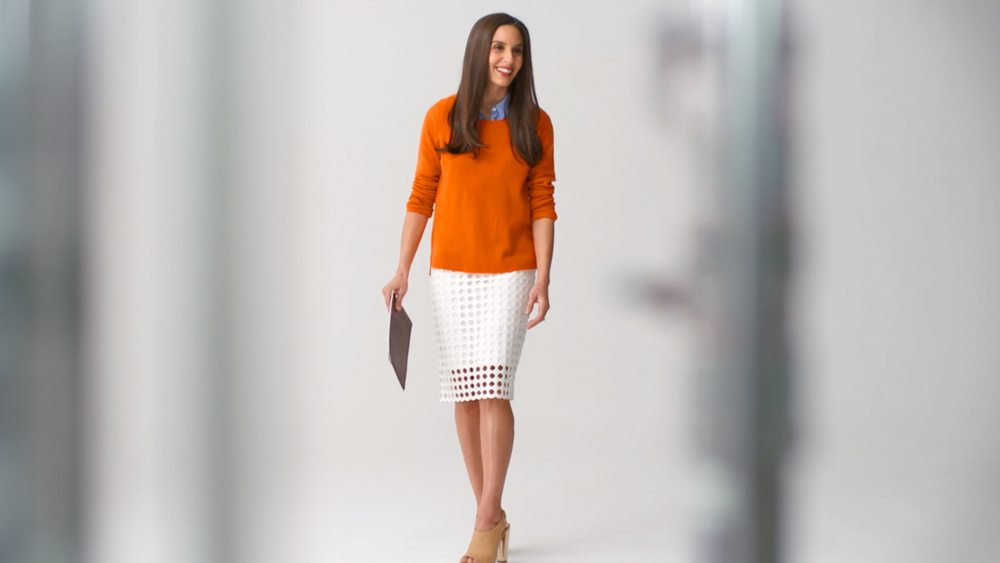 Real-Time Fashion: Orange