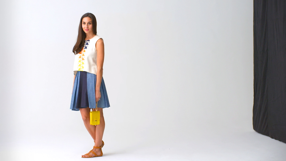 Real-Time Fashion: Pleated Skirts