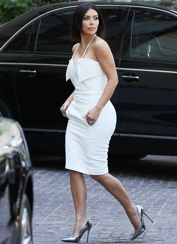 Kim Kardashian Bridal Shower
