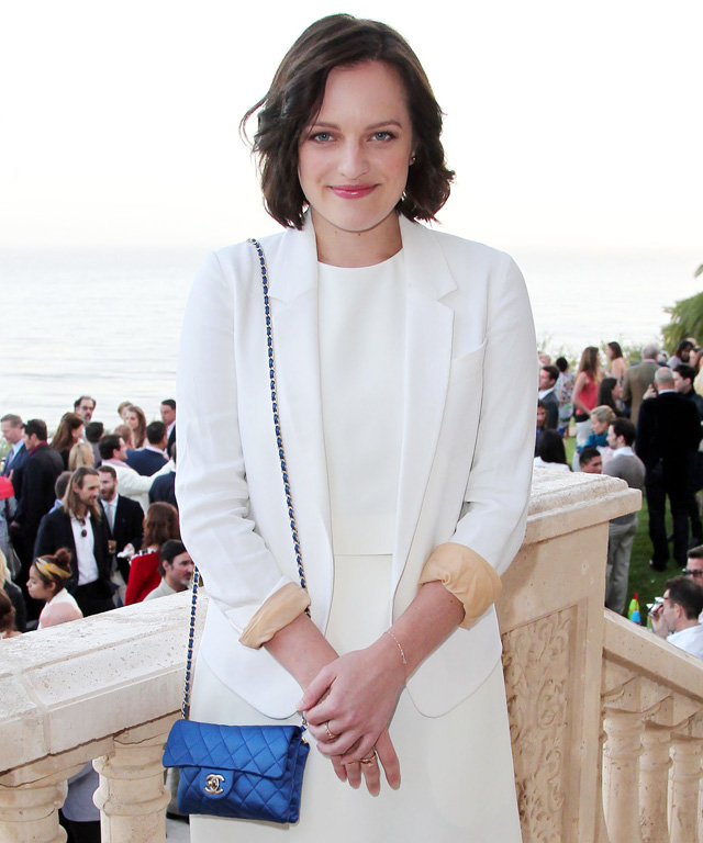 Elisabeth Moss Mad Men Elephant Crisis Fund Sunset Gala