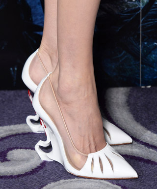 "Angelina Jolie's ""Maleficent"" Christian Louboutin Heels"