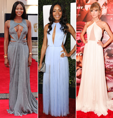 Zoe Saldana, Naomie Harris, Taylor Swift