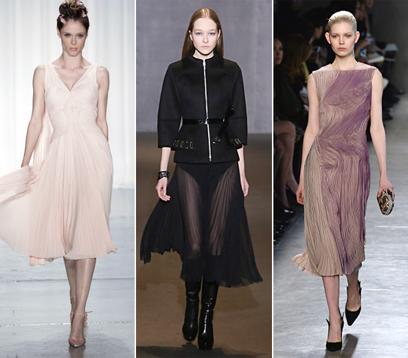 Fall 2014 Collections: Zac Posen, Bottega Veneta, Andrew Gn