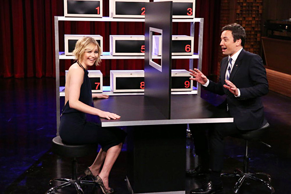 Jennifer Lawrence, Jimmy Fallon