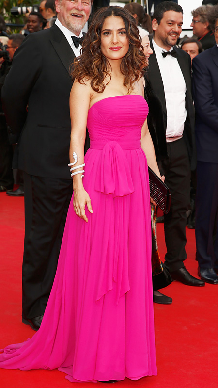 Salma Hayek at Cannes