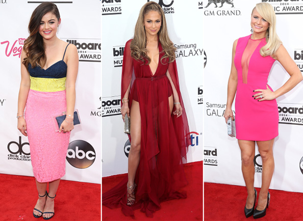 2014 Billboard Music Awards Red Carpet Fashion