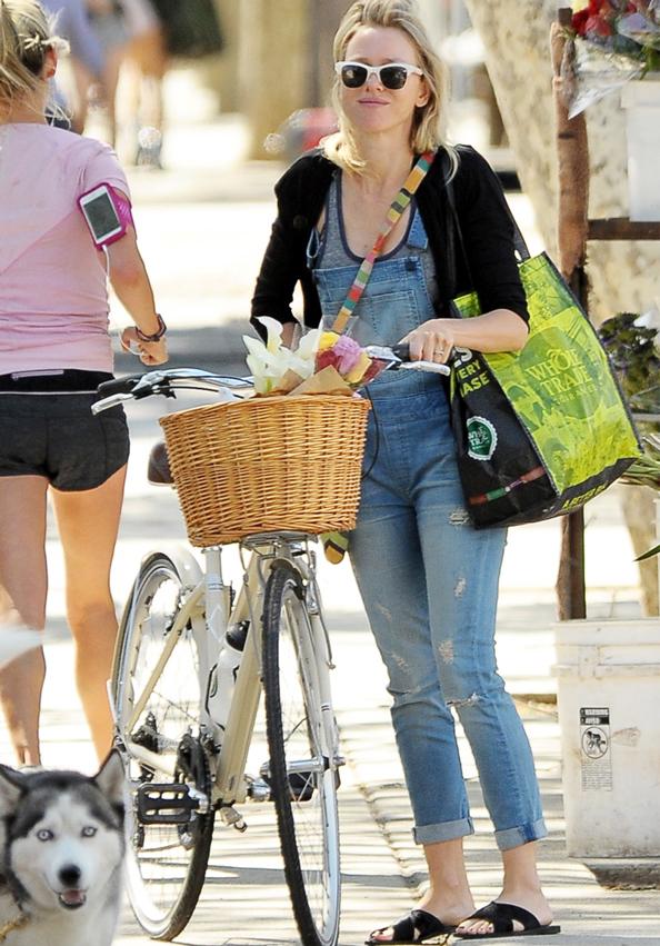 Naomi Watts in Overalls