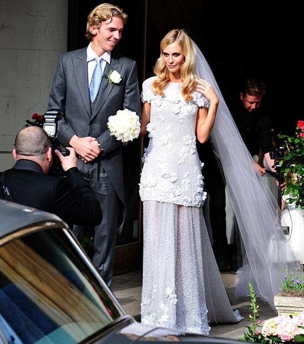 Poppy Delevingne's Wedding Dress
