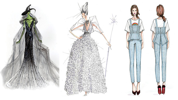 The Wizard of Oz: Donna Karan, BCBG Max Azria, Trina Turk