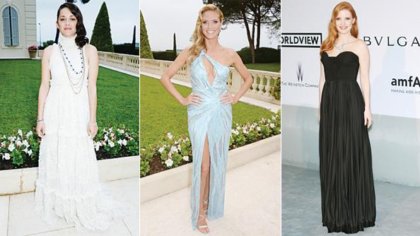 amfAR Cinema Against Aids Gala: Marion Cotillard, Heidi Klum, Jessica Chastain