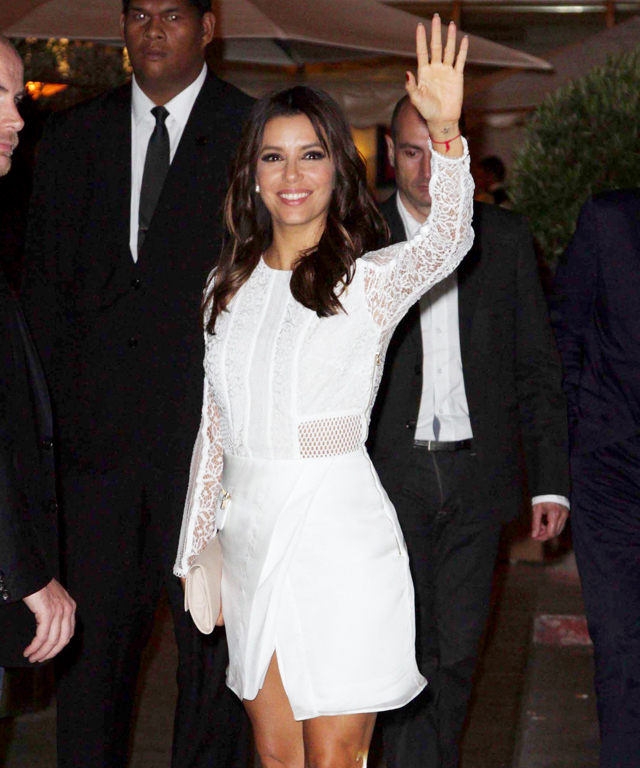 Eva Longoria Three Floor Dress