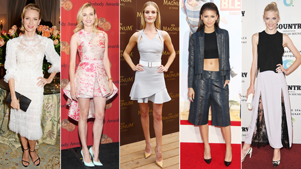 Naomi Watts, Diane Kruger, Rosie Huntington-Whiteley, Zendaya, Jaime King