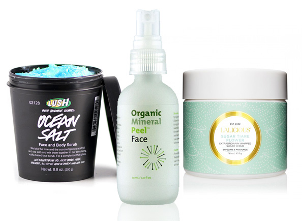 Natural Face and Body Scrubs