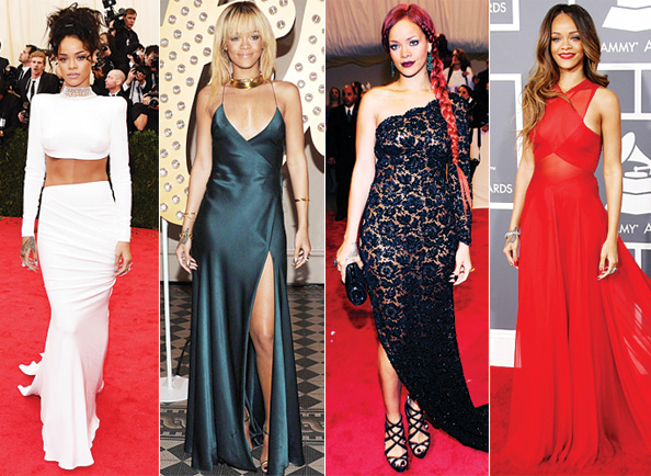 Rihanna's 10 Best Red Carpet Looks