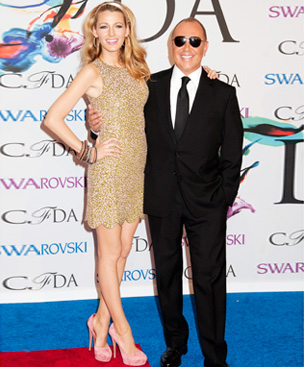 Blake Lively and Michael Kors