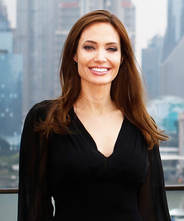 Angelina Jolie's Custom Louboutins