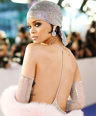 2014 CFDA Awards: Rihanna in Adam Selman