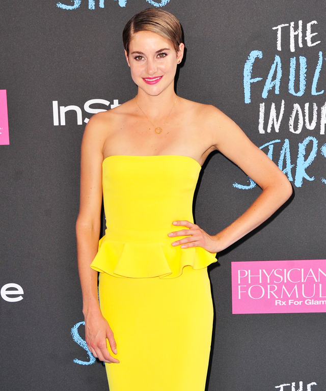Shailene Woodley #TFIOS Red Carpet