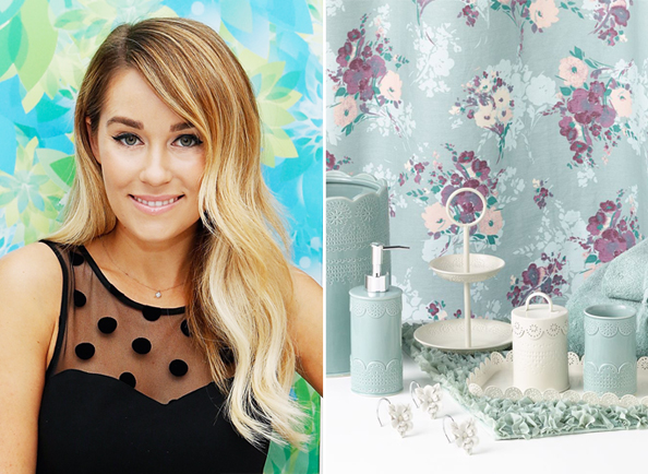 Lauren Conrad's New Bathroom Decor Collection