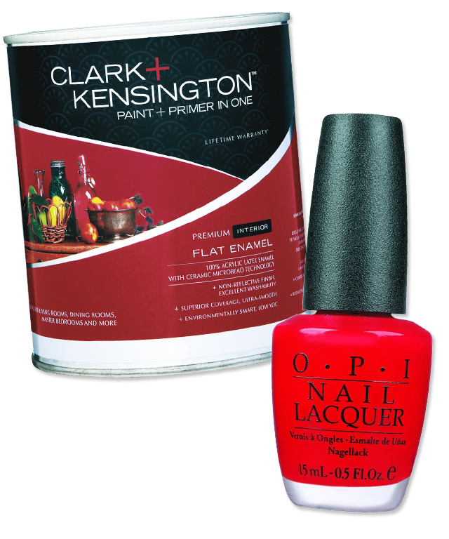 OPI x Clark+Kensington Interior Paint