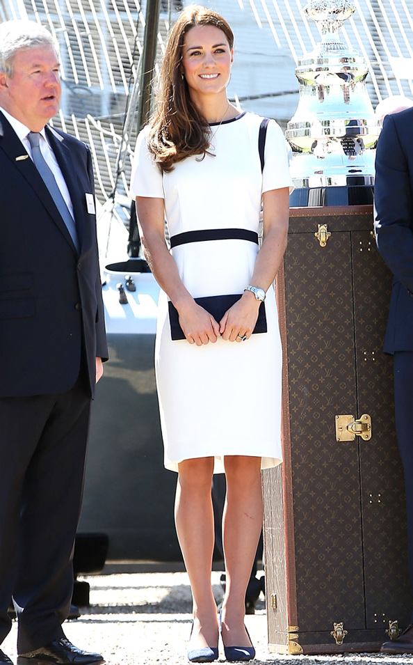 Kate Middleton in Jaeger Dress