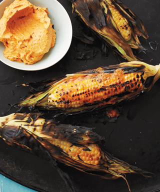 Red Pepper Buttered Corn on the Cob