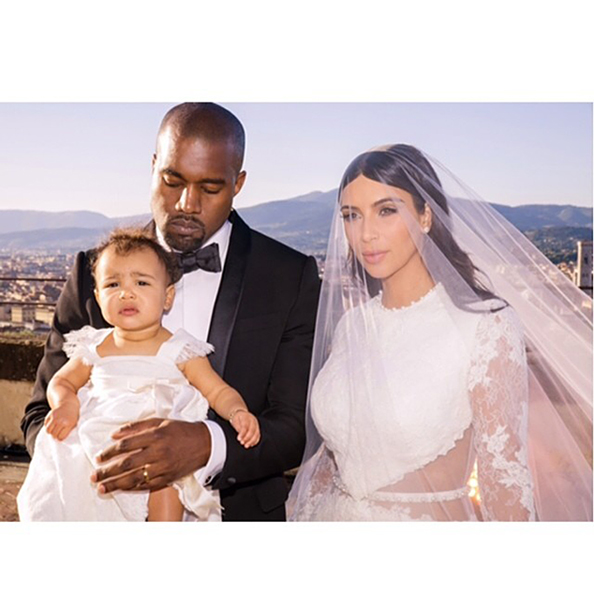 Kim Kardashian Kanye West wedding