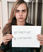 Angelina Jolie's Time to Act Campaign