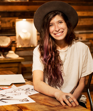 Pamela Love designs T-shirt for Mustang