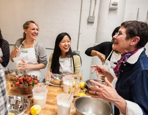 InStyle Editors hit the kitchen