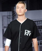 Rafferty Law in DKNY Runway Show