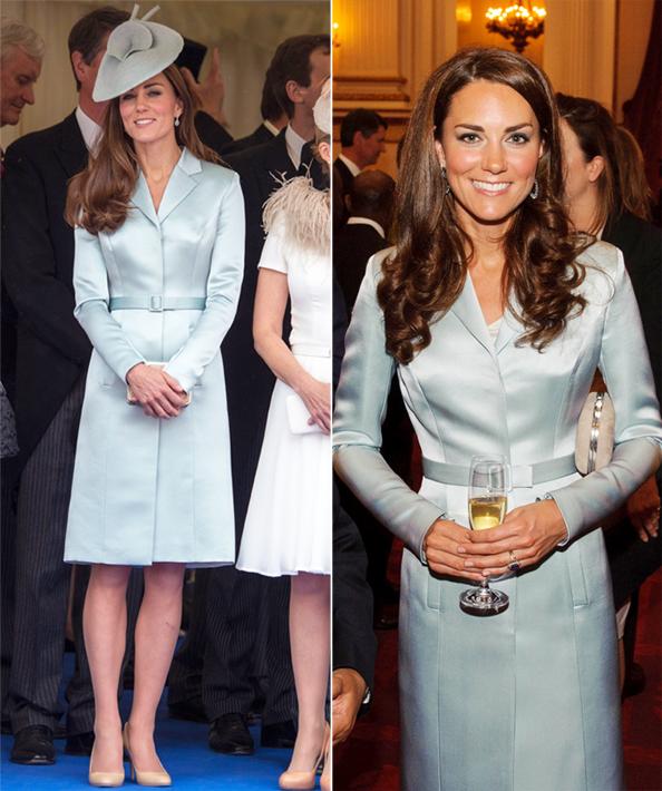 Kate Middleton in Christopher Kane