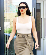 Kim Kardashian's Post-Honeymoon Style
