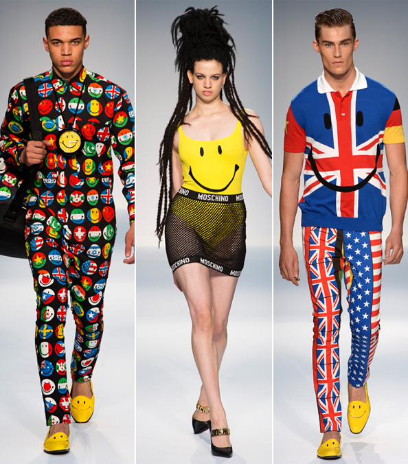 Jeremy Scott's Moschino Smiley Face
