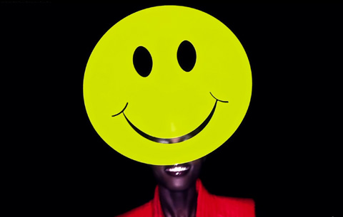 Philip Treacy Smiley Face Hat