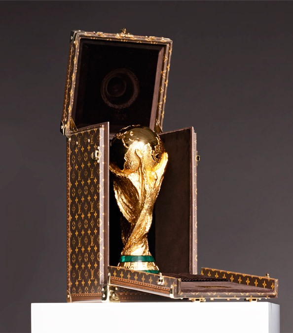 2010 World Cup Trophy designed by Louis Vuitton