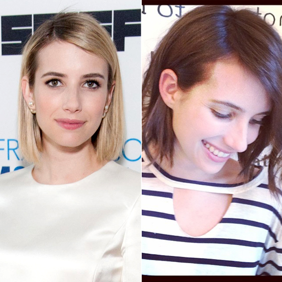 Emma Roberts' new hair