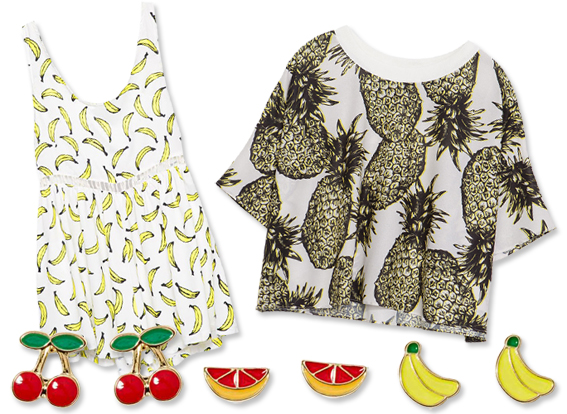 Summer Fruit Fashion