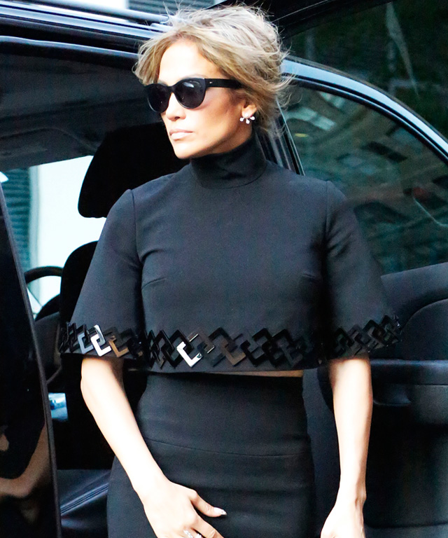 Jennifer Lopez in David Koma