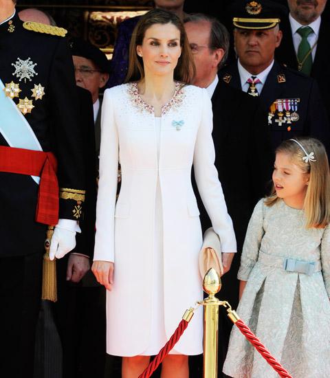 Queen Letizia Felipe Varela