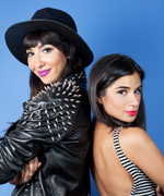 Diane Guerrero and Jackie Cruz - Flaca and Maritza - Orange is the New Black