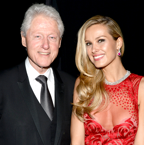 Bill Clinton Petra Nemcova