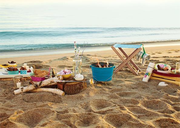 Poppy Talk Target Beach Picnic Party