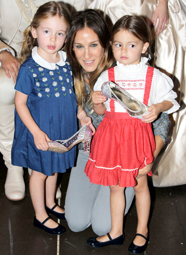 Happy Birthday to SJP's Twins!