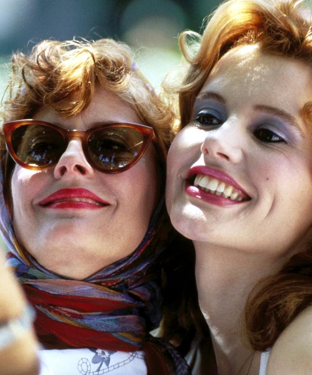 Susan Sarandon and Geena Davis Thelma and Louise Selfie