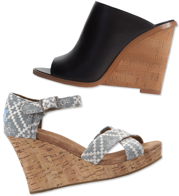 10 Pairs of Summer Wedges We Love